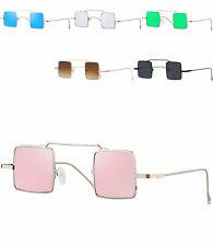 caripe Retro Vintage Lennon Sonnenbrille Nickelbrille quadratisch - kvadra5