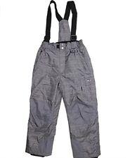 Weatherproof 32 Degree Boys Winter Suspender Snow Pants Charcoal HRR/TW
