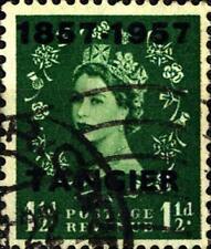 MOROCCO - 1957 - Centenaire de l'office britannique  -  Surchargés