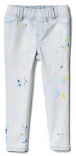 Baby Gap NWT High Stretch Paint Splatter Jeggings Legging Jeans 12-18 4 4T 5 $40
