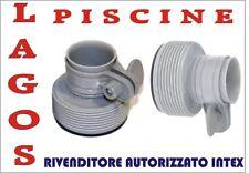 N°1 Ricambio Adattatore B nuovo intex  ricambi pompa piscina Intex cod.10722