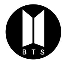 BTS Round Logo Vinyl Decal Sticker for Car Window, Yeti, Laptops