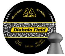 Air Arms Diablo Field .22 / 5.51mm Domed Air Gun Pellets Sample Pack & Full Tin