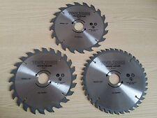 184mm 190mm TCT Circular Saw Blade 3 Pack 20T 24T 40T Coarse Medium Fine Finish