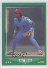1988 Score Factory Set Base High Gloss #435 Steve Jeltz Philadelphia Phillies