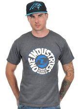 One Industries Retroceso Icono Camiseta Algodón Gris Carbón - OFERTA