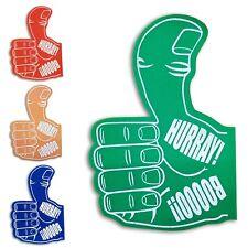 Foam Thumbs Up Thumbs Down Hand Boo Hurray