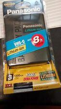 Panasonic CGR-D815 Batteria ORIGINALE PANASONIC per Video Camera VHS-C