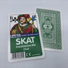Ab 0,94€ je Stück Skat Kartenspiele Club Französisches Bild, Spielkarten Frobis
