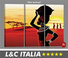 Afro woman 3 QUADRI MODERNI CASA ARREDAMENTO POSTER PICTURE BILD ARREDO ETNICO
