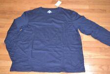 Croft & Barrow Navy Sleeve Gray T-Shirt Men's Tee
