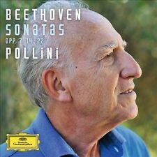 Beethoven: Piano Sonatas, Opp. 7, 14, 22 Pollini (CD, Oct-2013, Deutsche)
