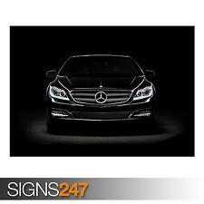 MERCEDES BENZ CL600 CAR (AA330) CAR POSTER - Photo Poster Print Art * All Sizes