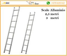 Scala in alluminio ATIS PROFESSIONAL 2,5 E 3 METRI gradini ribattuti