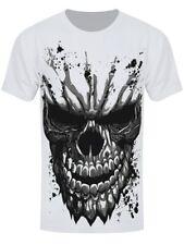 Carved Skull Men's White Sub T-shirt