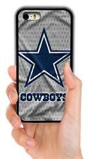 DALLAS COWBOYS NFL RUBBER PHONE CASE COVER FOR IPHONE 4S 5S 5C 6S 6 7 8 PLUS X