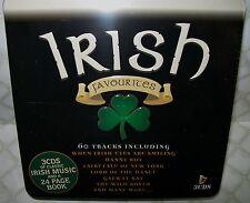 IRISH FAVOURITES (3xCD boxed set in tin) - NEW, SEALED