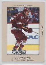 2006-07 Upper Deck Bee Hive Matte #24 Ed Jovanovski Phoenix Coyotes Hockey Card