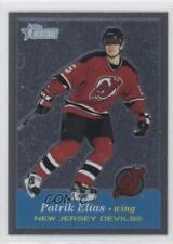 2001-02 Topps Heritage Retrofractor 4 Patrik Elias New Jersey Devils Hockey Card