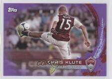 2014 Topps MLS Purple #5 Chris Klute Colorado Rapids Soccer Card