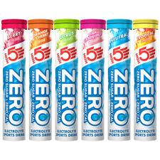 High5 ZERO Hidratación Bebida Comprimidos - 20 Tabletas X 3 - highfive - ALTO 5