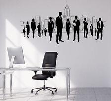 Wall Vinyl Decal Team Business Work Teamwork Office Interior Decor z4698