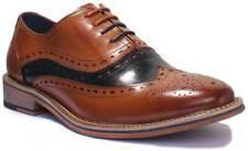 Justin Reece Mark Hombres Cuero Zapatos Mate