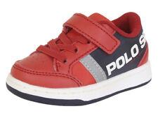 Polo Ralph Lauren Toddler Boy's Belden-PS Red/Navy Sneakers Shoes