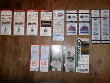 Massive MLB NFL NHL NBA Ticket Stub Lot Collection of (96)...Full Tickets Stubs