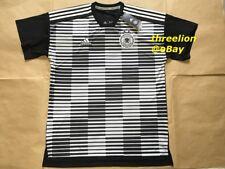 BNWT Adidas 2018 GERMANY DFB Pre-Match PARLEY Training Soccer Jersey Shirt Top L