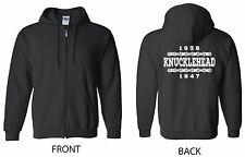 Knucklehead Years ZIP Hoodie - Biker Harley Davidson