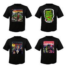 Frankenstein / Dracula / Werewolf Custom Monster T-Shirts - Adult Sizes S-5X