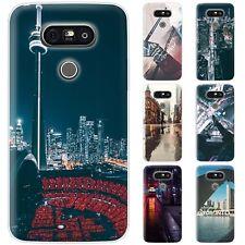 dessana Toronto Sightseeing Silikon Schutz Hülle Case Handy Tasche Cover für LG