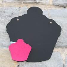Chalk Blackboard Cupcake Shape for Memos Notes & Home Decor