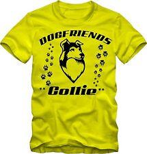 T-Shirt Collie Hundeshirt  T- Shirt mit  Hundemotiv v. Farben