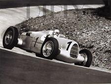 PLAQUE ALU DECO PHOTO GP ALLEMAGNE AUDI AUTO UNION 1935 COURSE AUTO RACE CAR