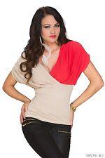 Women's Party Club Wear Elegant Chic Blouse Shirt Top Wear UK size 8-10