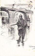 WW1 GERMAN SOLDIER ART POSTCARD