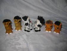 Fisher Price Little People Touch & Feel Zoo Ark 3 Pairs camel giraffe zebra lot