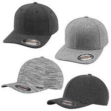 FLEXFIT ® STRIPES HERINGBONE TWILL KNIT PLAIN SPAN MELANGE CAP Baseball Kappe