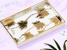 NEW Lilly Pulitzer GWP JEWELRY DISH Trinket TRAY Palm Tree Palms  Gold Metallic