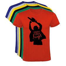 Camiseta Free Hugs La matanza de Texas Hombre varias tallas y colores