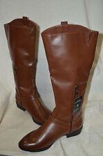 Sam & Libby Women's Parker Tan Tall Boots - Size 9.5
