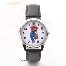 Super Mario Wrist Watch Boys Girls Kids Children Gift Stocking Party Bag Filler