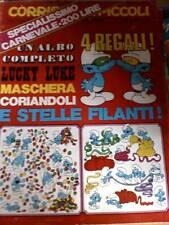 Corriere dei Piccoli 6 1970 con albo Lucky Luke 32 pag.