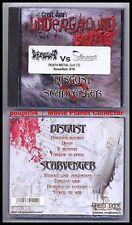 DISGUST vs SCARVENGER (CD) Death Metal 2005 NEUF