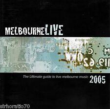 MELBOURNE Live 2005 OZ CD New