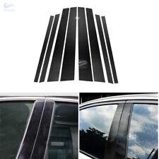 Real Carbon Fiber Window B C Pillars Cover Car Body Trim For BMW E46 E90 F30 F10