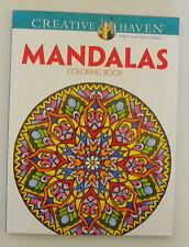 Creative Haven Adult Teen Coloring Book Mandalas - you choose - free shipping