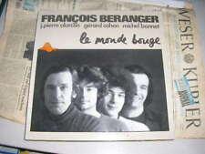 LP chanson F Beranger le monde bouge Escargot